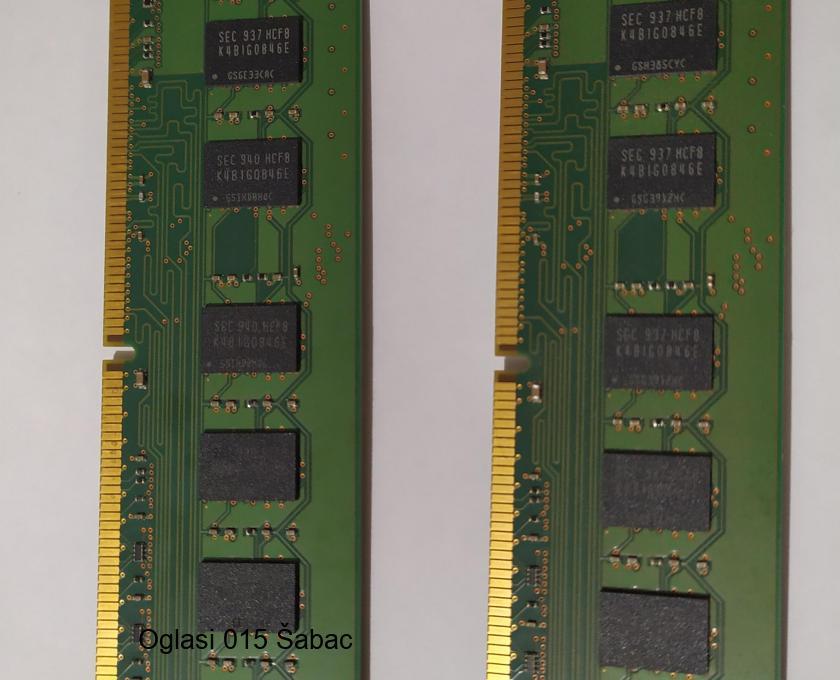 Samsung ram memorije 2x2Gb DDR3