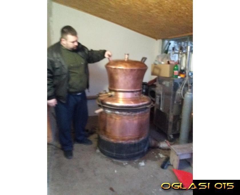 Kazan za rakiju 400 litara