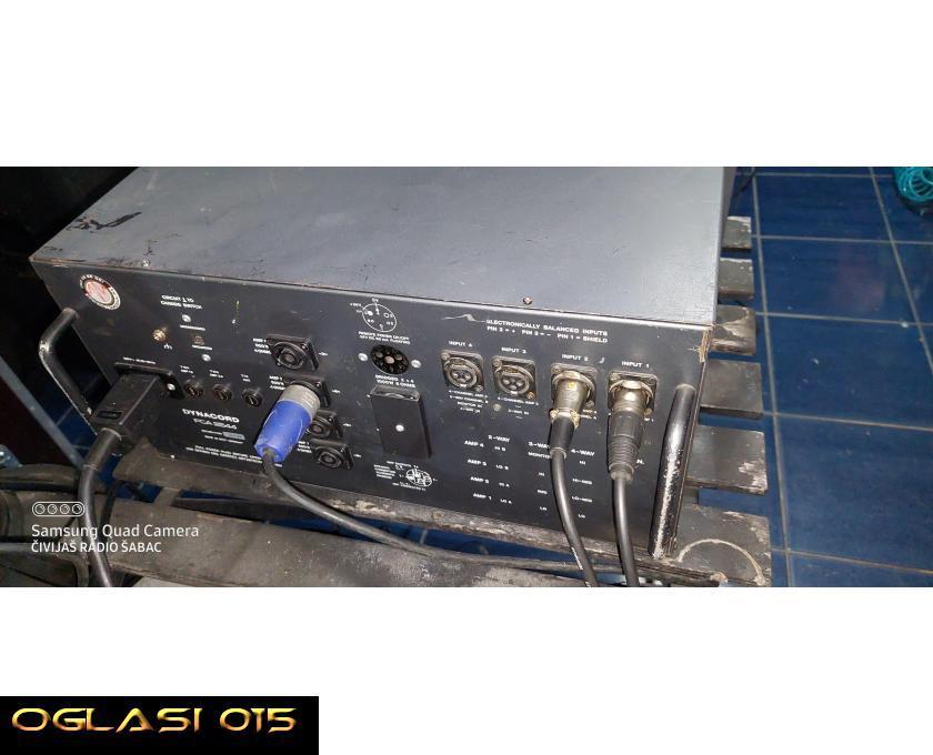 PCA 2544 dinacord sistemski slejv pojačalo